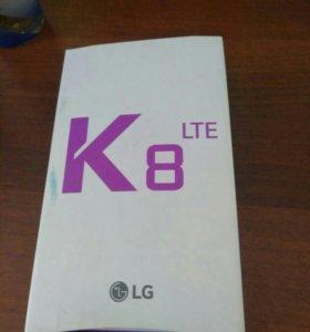 Телефон LG 8