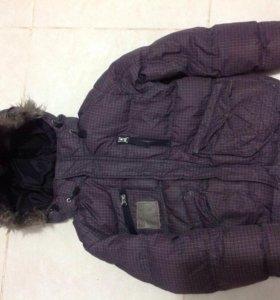 Куртка для мальчика р.140 зимняя