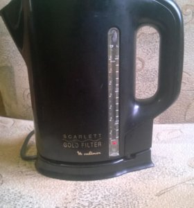 Чайник Moulinex Scarlett Gold Filter L13