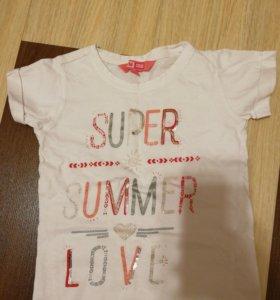 3 футболки на девочку