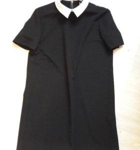 Платье бу пару раз. Ткань в рубчик, не мнется.