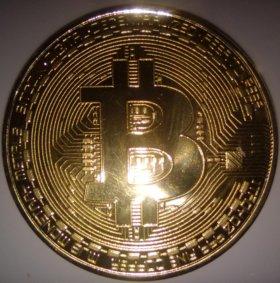 Биткойн (сувенирная монета)