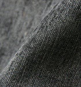 Ткань на отрез (чёрный цвет)