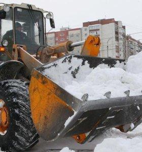 Чистка, вывоз, уборка снега