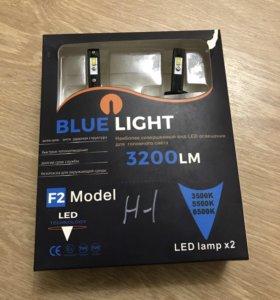 Blue light led