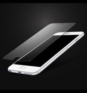 Защитное стекло на iPhone 6+/6s+(2шт)