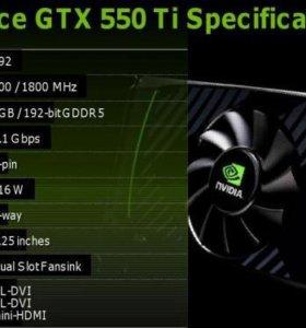 NVIDIA GeForce GTX 550 Ti |NVIDIA