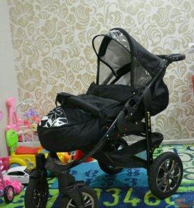 Детская коляска Авиатор 3 в 1.