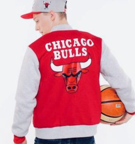 Бомбер Chicago Bulls унисекс