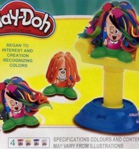 Масса для лепки Play Doh сумасшедшие прически