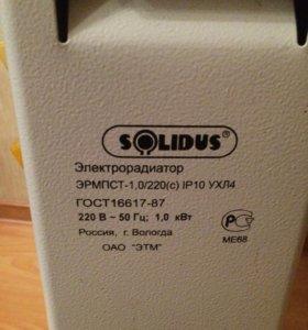 Обогреватель масляный электрический