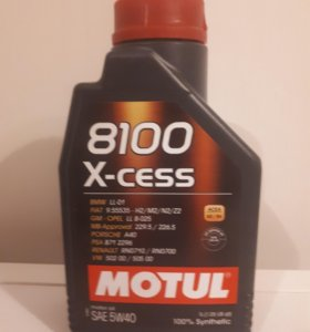 Моторное масло MOTUL 5W40
