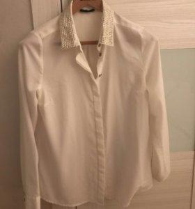 Рубашка полупрозрачная Mohito