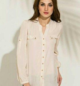 Блуза женская(Кремово-бежевого цвета.)