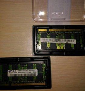 Оперативная память 2 гигабайта DDR2