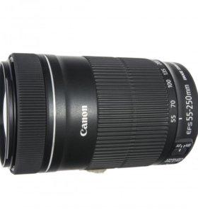 Продам объектив Canon EF-S 55-250mm f/4-5.6