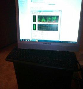 Компьютер + монитор, клавиатура и мышка в подарок!