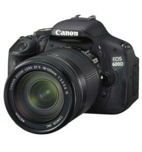 Фотоаппарат зеркальный Canon EOS 600D18-135