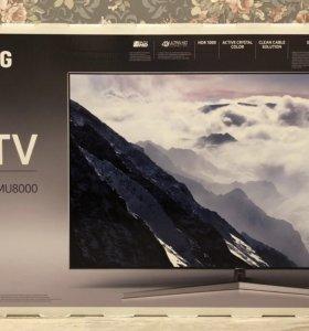 Новый топовый 4K телевизор Samsung UE49MU8000UX