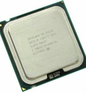 Процессор Intel Core 2 Duo E4500 + BOX-кулер