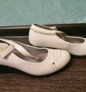 Туфли для девочек лакированные