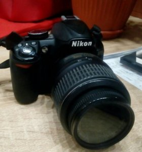 Фотоаппарат Nikon d3100.