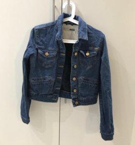 """джинсовая куртка """"topshop"""""""