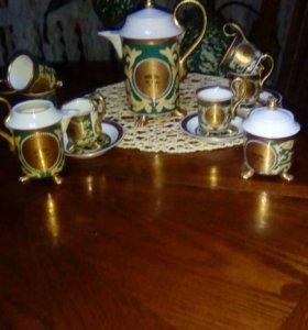 Кофейный набор,королевский фарфор.Чехия