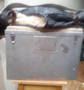 Ящик для зимней рыбалки из алюминия советский