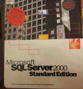 Microsoft SQL Server 2000 standart edition