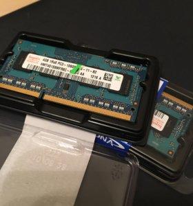 Оперативная память DDR3 1333MHz 2 по 4гб