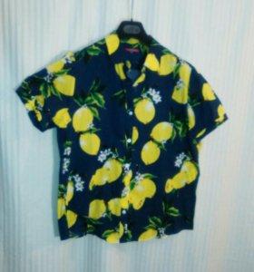 Блуза 100% хлопок 52-54 новая