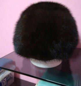 Норковая шапка размер 54-56