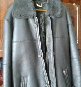 Мужская куртка из дубленой овчины
