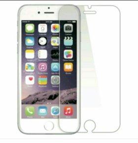 Стекло на iPhone 6 и 4-4s