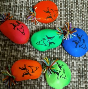 Капитошки,шарики с мукой