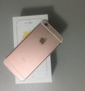 iPhone 6s на 64gb rose gold Touch ID