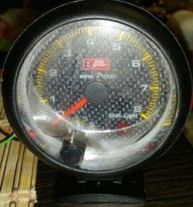 Выносной тахометр белая подсветка до 10000 об/ мин