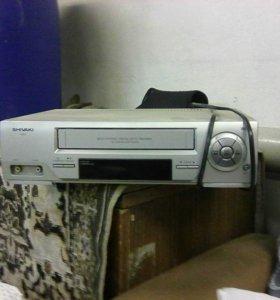 Видеомагнитофон ShivakiSVR 25, б/у.