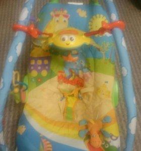 Кресло-качалка детская с вибрацией