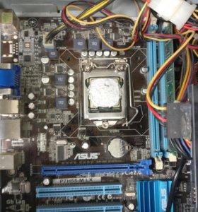 Материнская плата Asus P7H55-M LX LGA1156 H55 2xdd