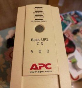 Блок бесперебойного питания (бесперебойник APC 500