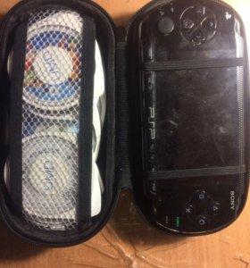 PSP/8 игр+чехол+зарядка,не прошитый.
