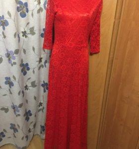Платье. Длинное в пол