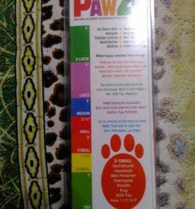 Ботиночки резиновые для собак от соли