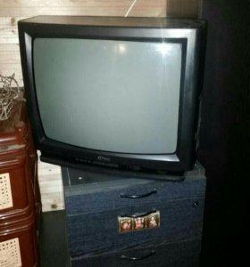 Настоящий японский телевизор кубик фунай