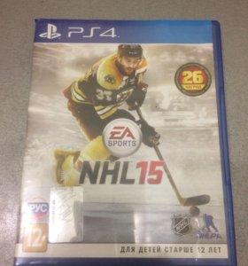 Игра на ps 4 NHL15