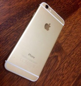 Apple iPhone 6 gold
