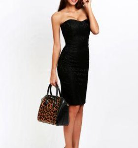 Новое черное платье love republic