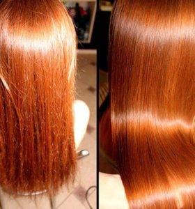 Полировка волос насадкой HG Polishen, ботокс